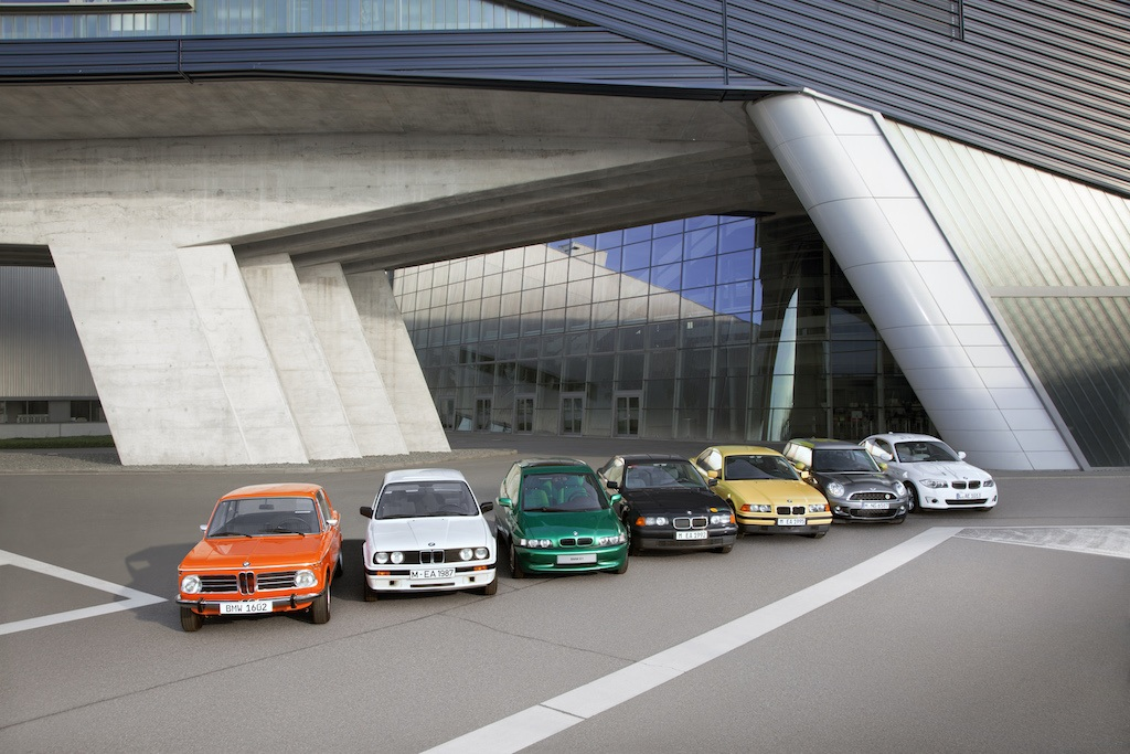 40 years of BMW EVs
