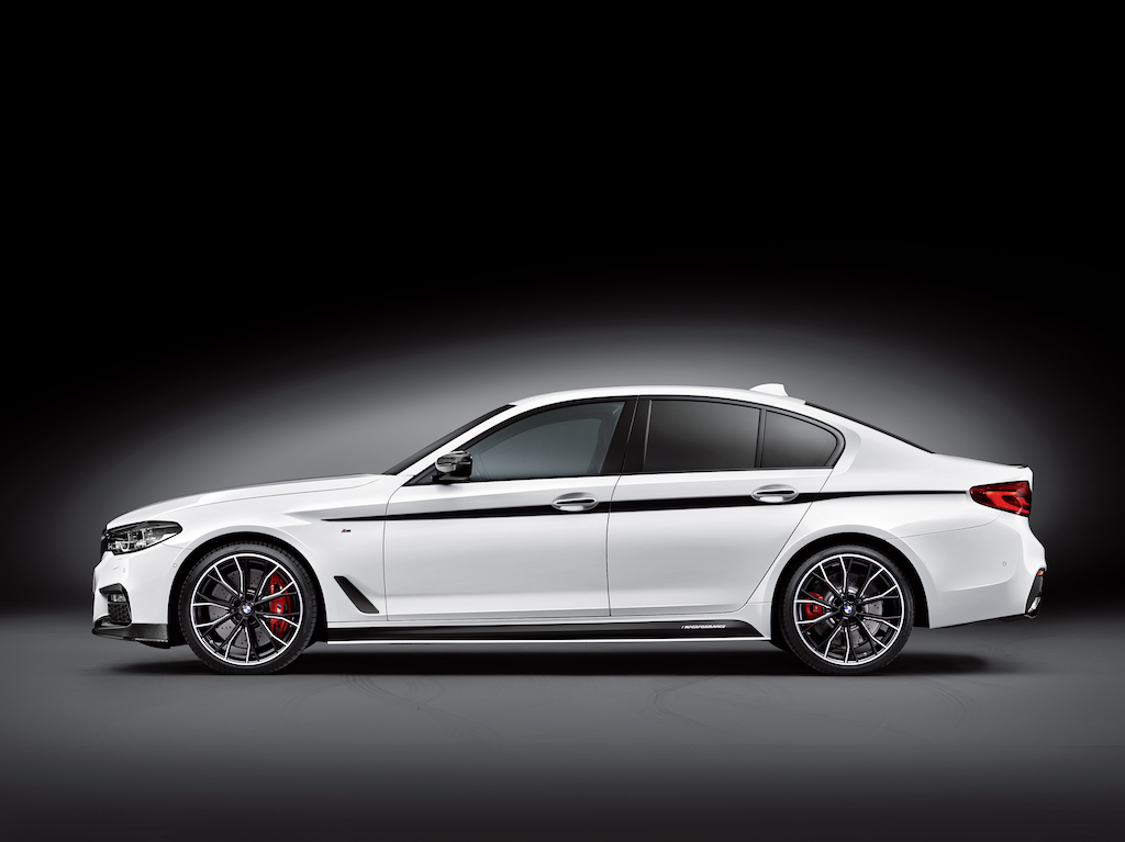 2017 BMW 5 Series with M Performance accessories | BMW