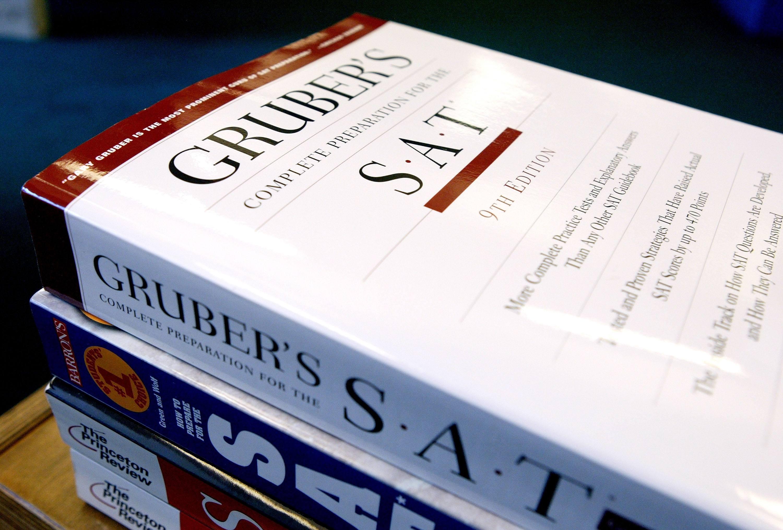 SAT prep books