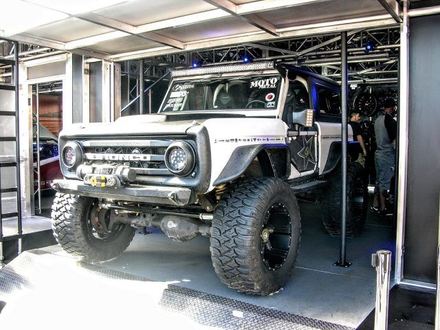 Customized Ford Bronco