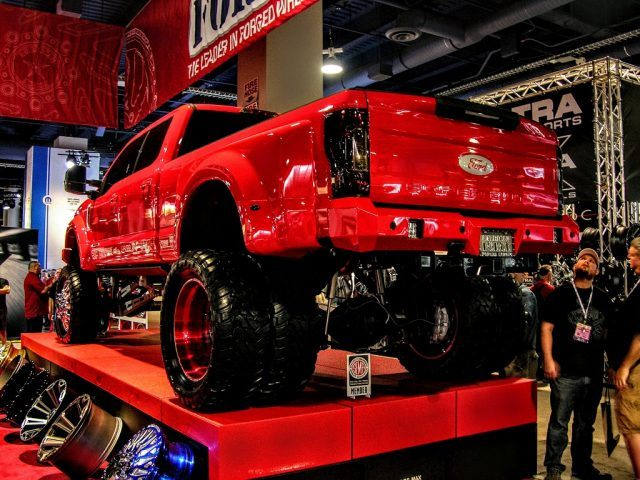 Custom dually Ford