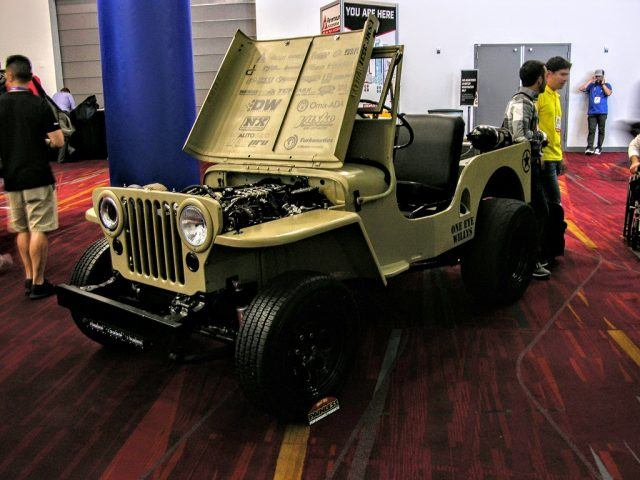 Nitrous-fed Jeep