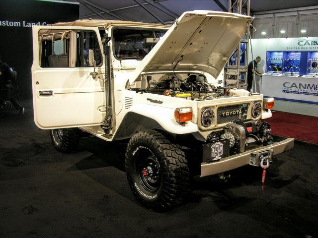 The FJ Company's Aspen build was one of our favorite finds at the 2016 SEMA show