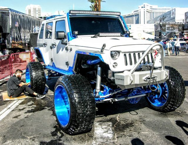Squeaky clean Jeep