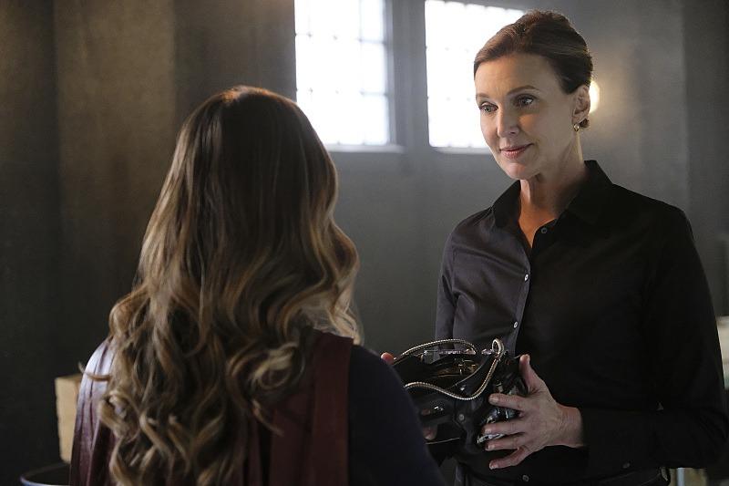 Lillian Luthor on Supergirl Season 2