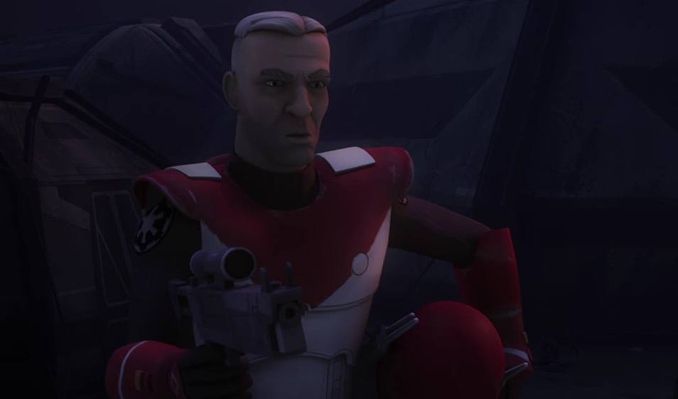 Gar Saxon on Star Wars: Rebels