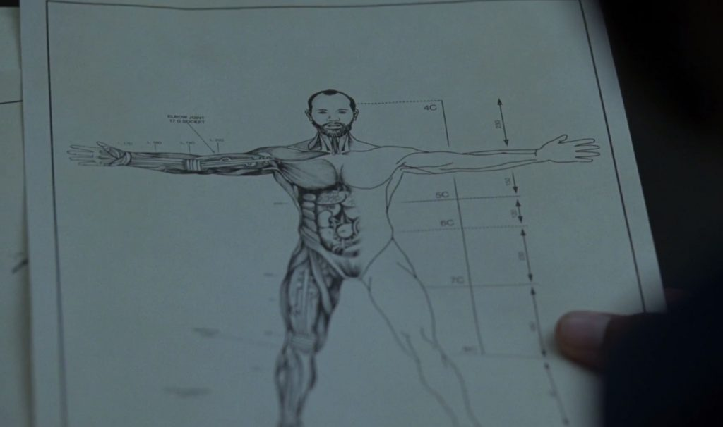 Bernard's blueprints - Westworld