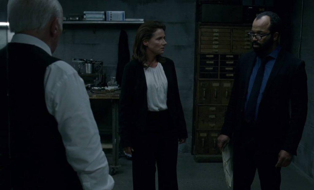Jeffrey Wright as Bernard in Westworld