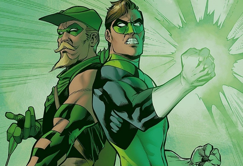 Green Lantern and Green Arrow - DC Comics