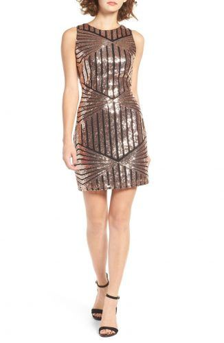 Sequin minidress