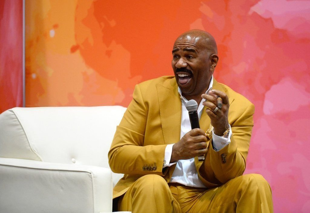 Television personality and host Steve Harvey