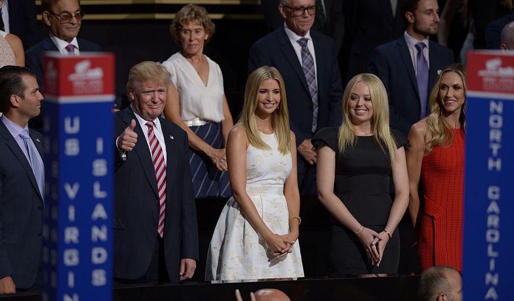 Donald, Ivanka, and Tammy Trump