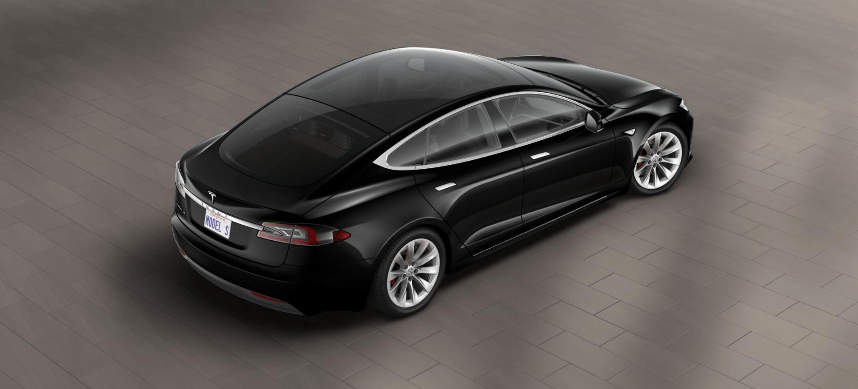 2017 Tesla P100D with optional glass roof   Tesla