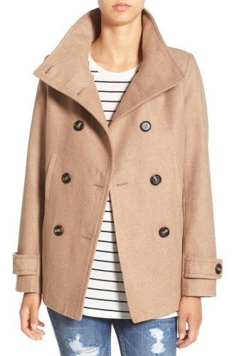 Thread & Supply Double-breasted peacoat