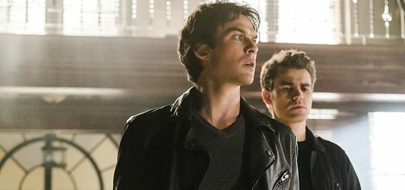 Ian Somerhalder and Paul Wesley play the Salvatore brothers on The Vampire Diaries