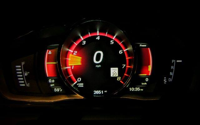 Volvo performance gauges