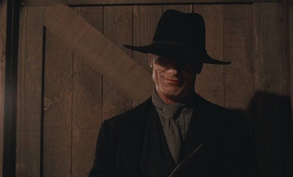 Ed Harris as the Man in Black on Westworld