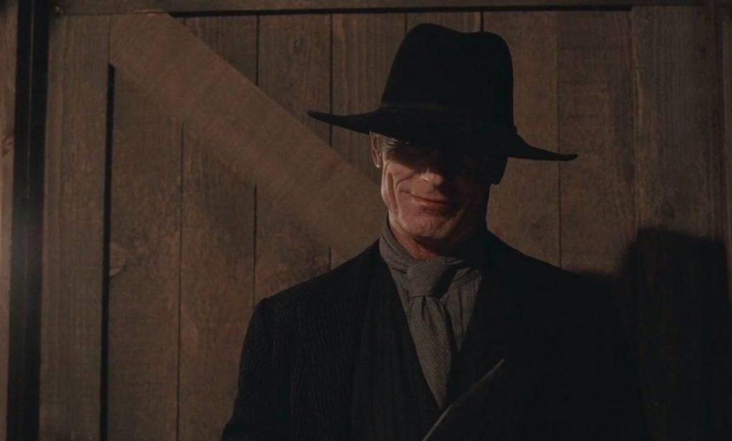 Ed Harris as the Man in Black on Westworld