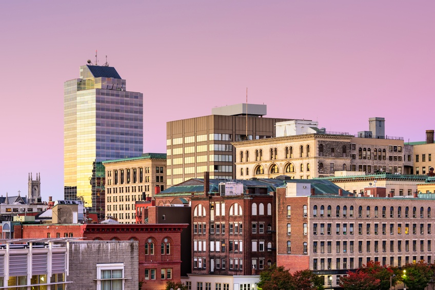 Downtown Worcester, Massachusetts