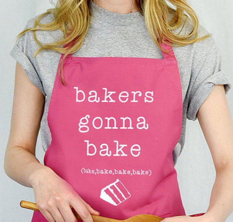 Bakes Gonna Bake apron
