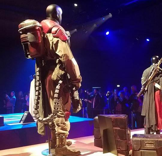 Baze Malbus' Rogue One Costume