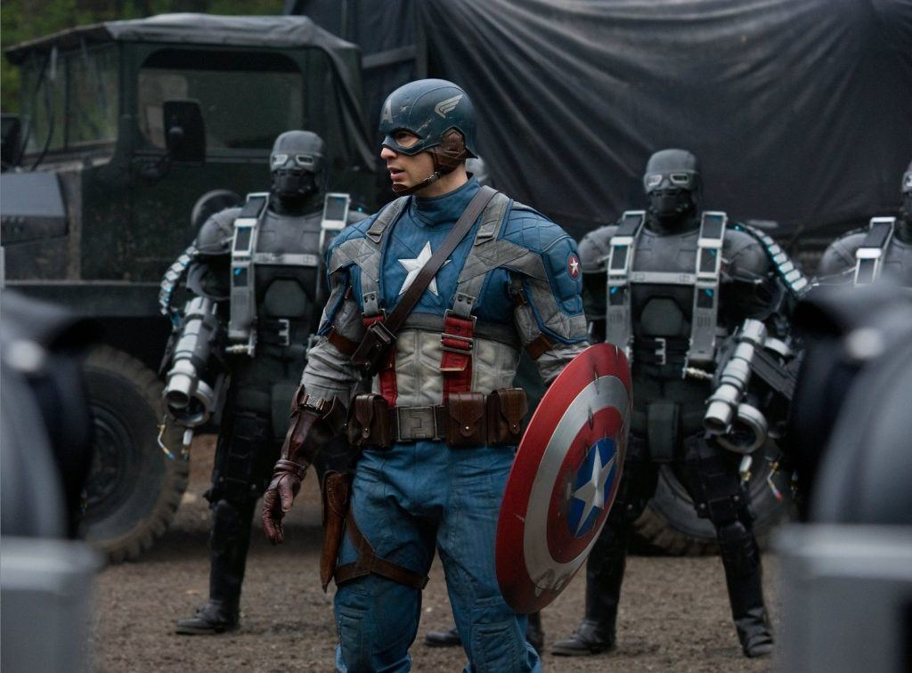 Captain America: The First Avenger Marvel's highest-grossing movies solo debuts