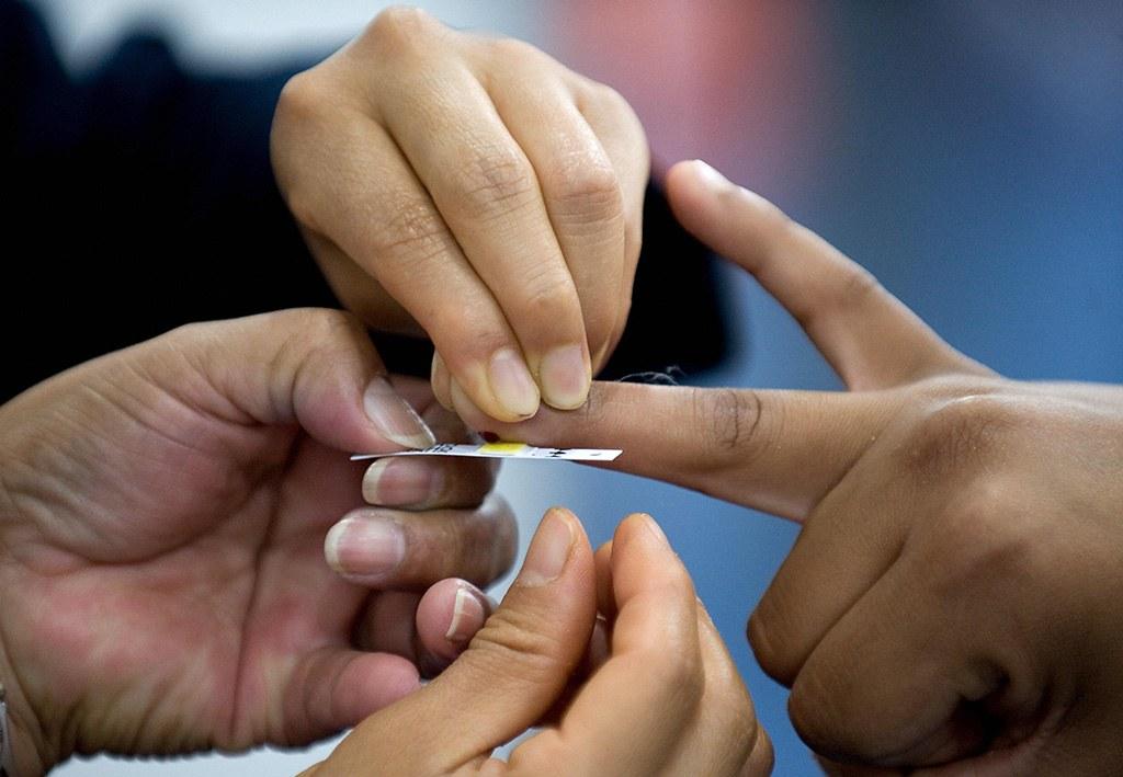 blood test to determine cholesterol