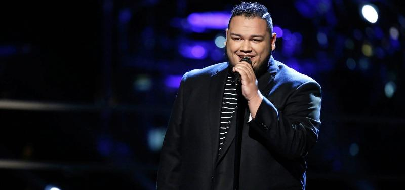 Christian Cuevas on the voice