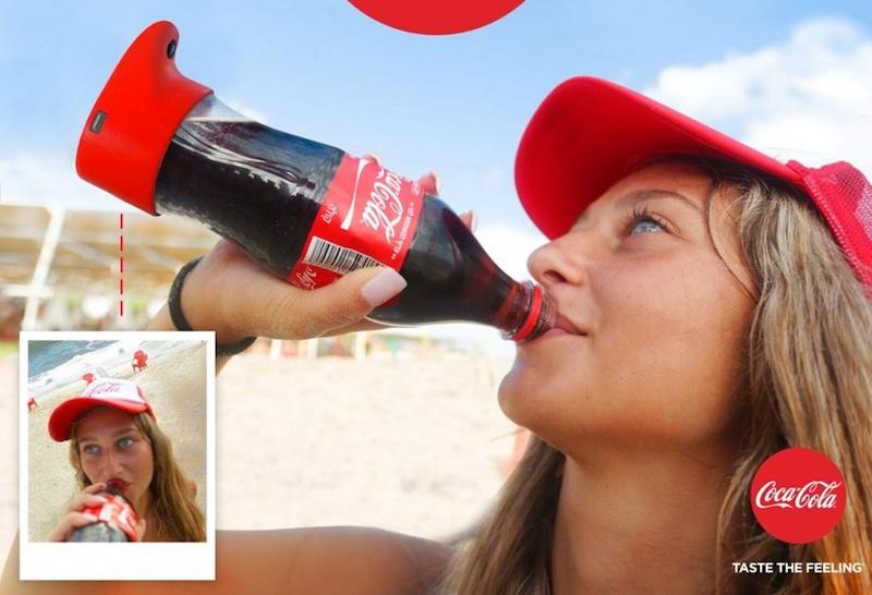 Coke Selfie Bottle