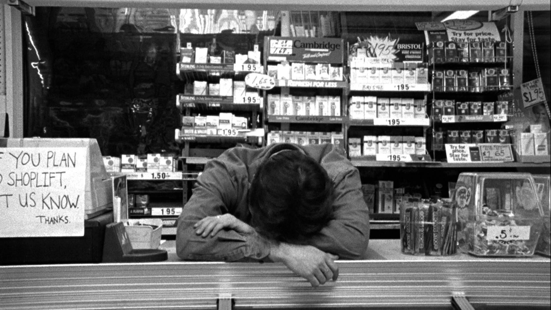 Dante from Clerks considers his career prospects and gives thought to taking a job interview or two