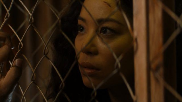 Alex (Michelle Ang) in a scene from 'Fear the Walking Dead'