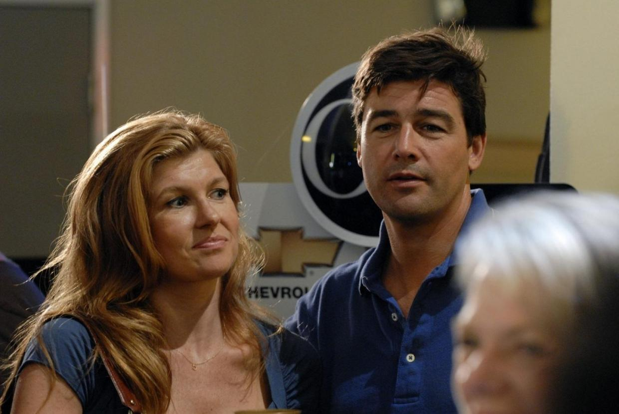 Eric and Tami Taylor on Friday Night Lights
