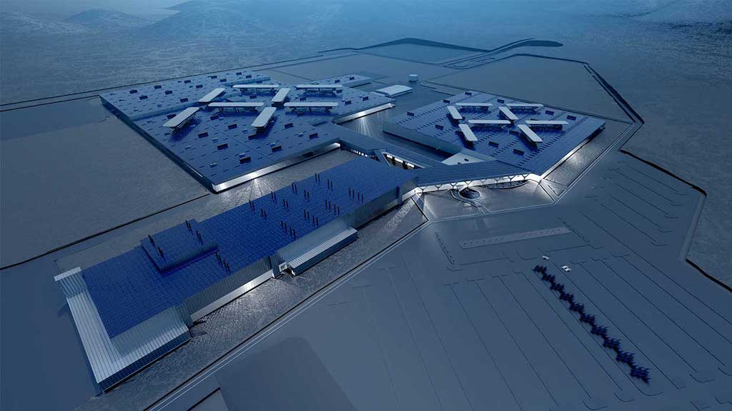Faraday Future proposed factory | Faraday Future