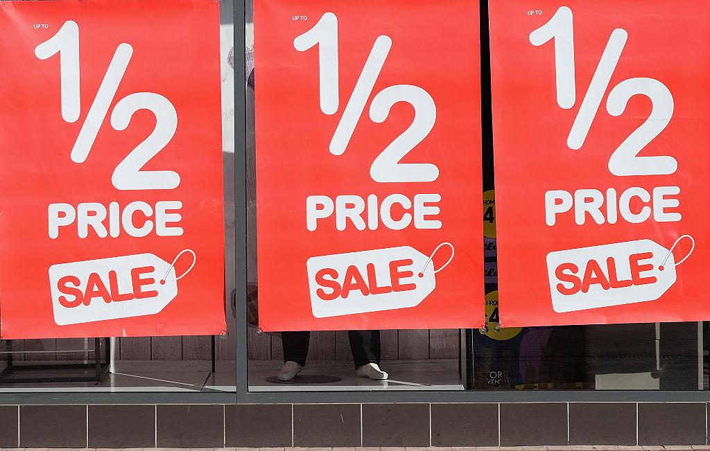 half price sale
