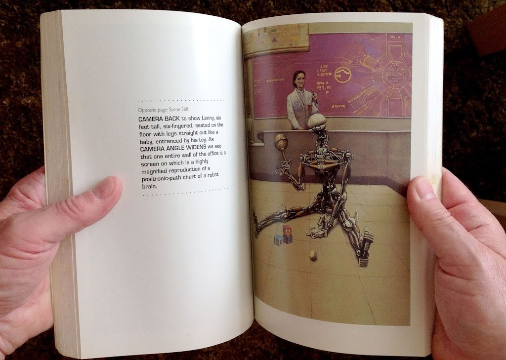 I, Robot - The Illustrated Screenplay