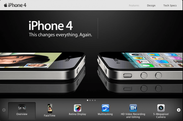 iPhone 4 'This changes everything. Again.'