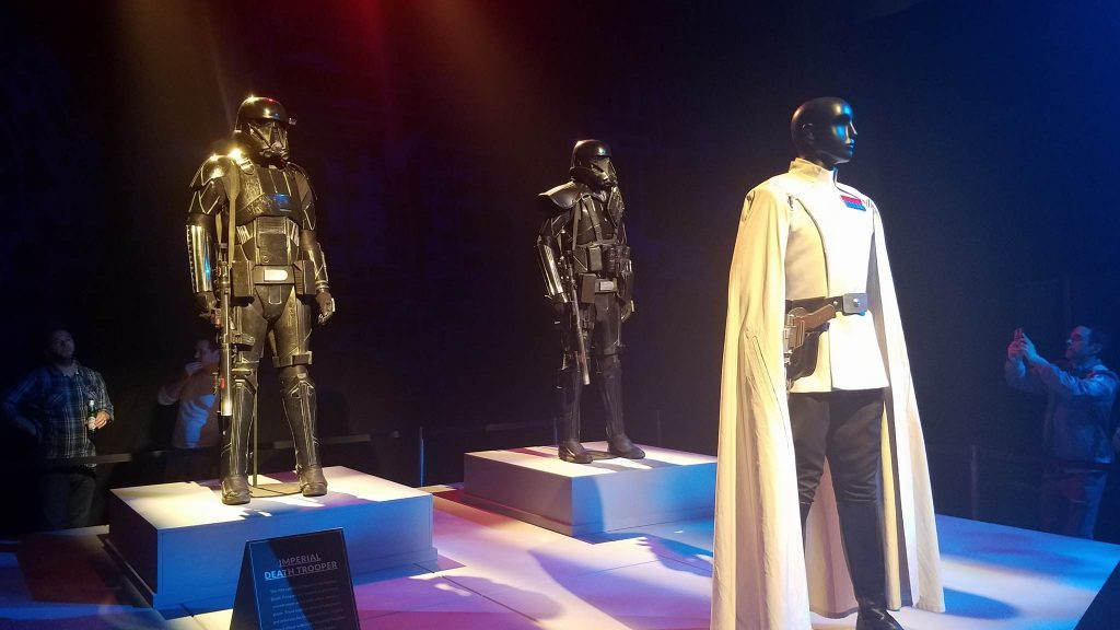 Director Krennic and his Deathtroopers