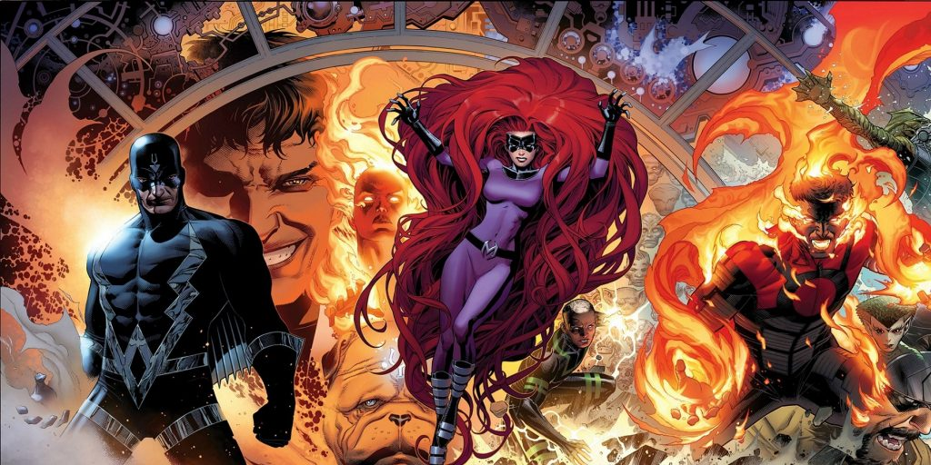 The Inhumans as seen in Marvel's comics