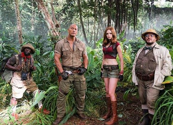 Cast of Jumanji