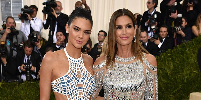 Kendall Jenner and Cindy Crawford