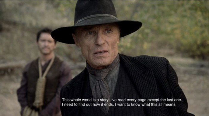 Ed Harris as the Man in Black - Westworld