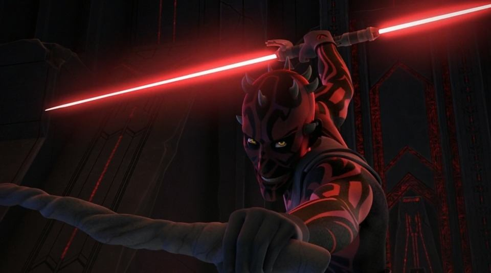 Darth Maul in Star Wars Rebels