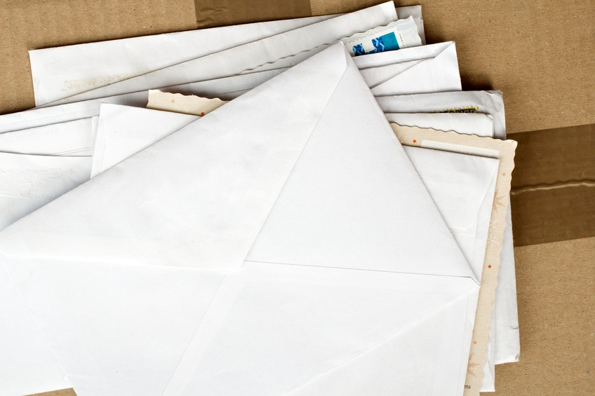 pile of letters