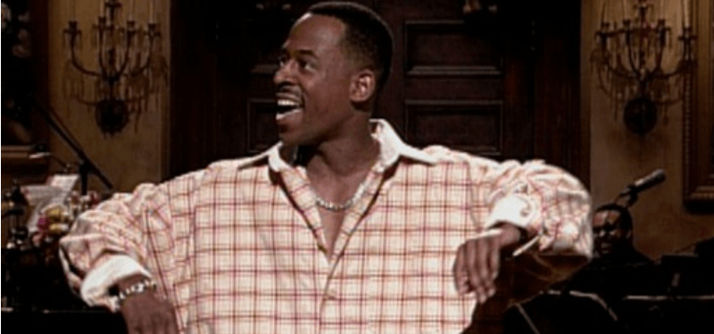 Martin Lawrence hosting Saturday Night Live