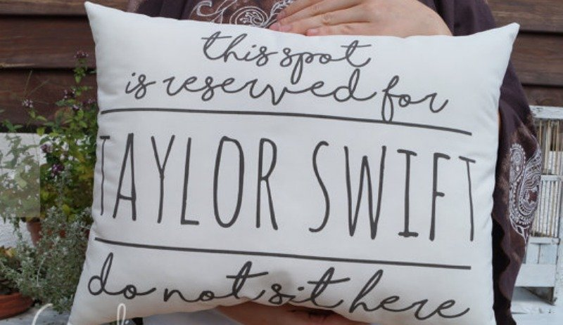 Taylor Swift pillow