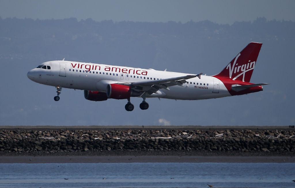 virgin american plane