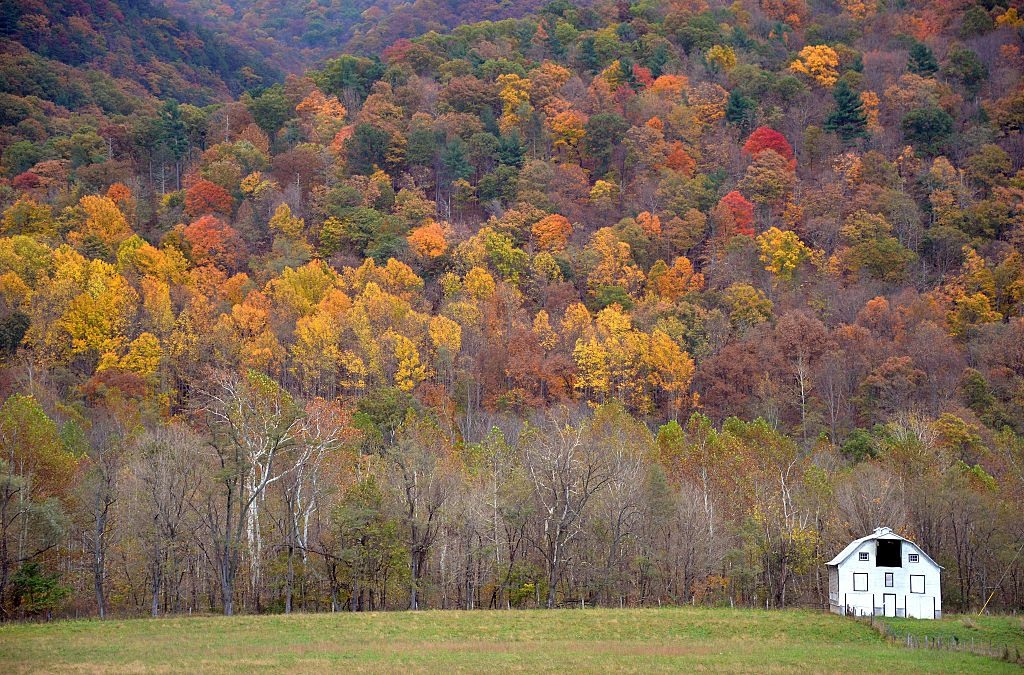autumn in west virginia