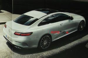 The 2018 Mercedes-Benz E-Class Coupe Leaks Ahead of Official Reveal