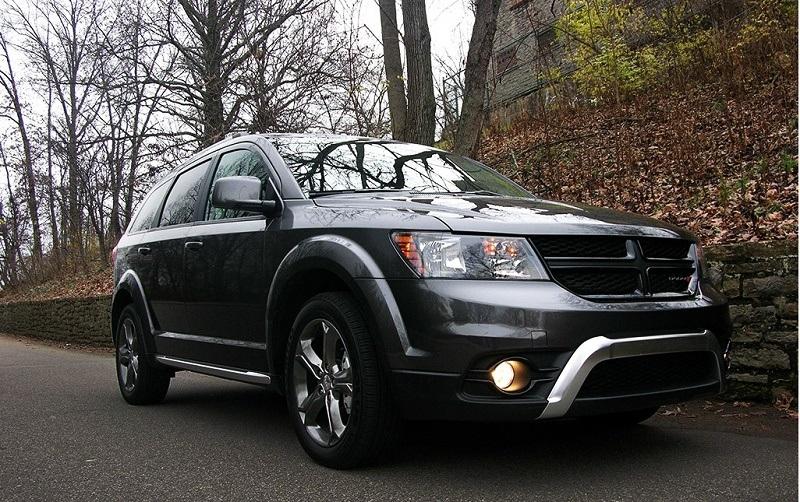 A 2016 Dodge Journey
