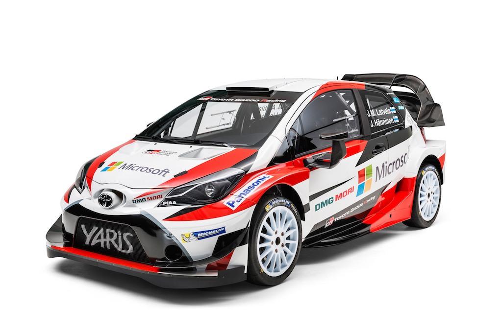 Toyota Yaris Gazoo WRC car